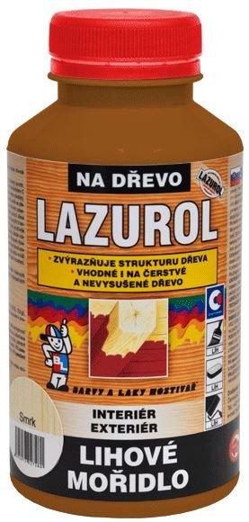 Liehové moridlo Lazurol - moridlo na drevo