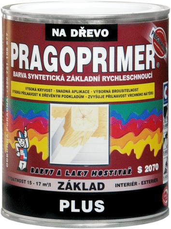 PRAGOPRIMER PLUS S 2070 - základná farba na drevo