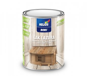 BORI Laková lazúra - na plot, altánok, fasádu