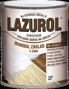 LAZUROL - S 2060 OKNOBAL ZAKLAD - základná farba na okná