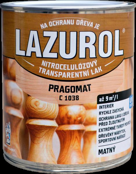 LAZUROL PRAGOMAT C 1038 - MATNÝ acetónový lak