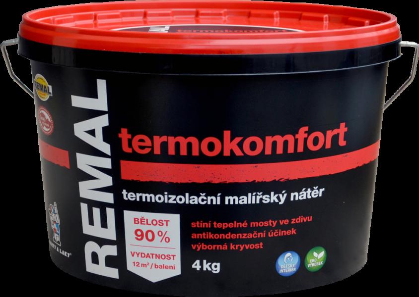 REMAL TERMOKOMFORT - termoizolačná farba na steny