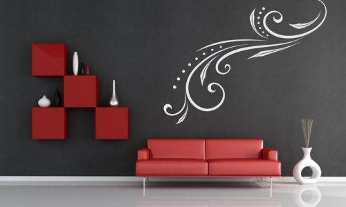 Šablóna na stenu - Ornament s bodkami