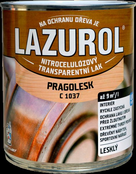 LAZUROL PRAGOLESK C 1037 - LESKLÝ acetónový lak