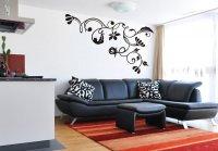 Šablona na stenu - Ornament listy 2