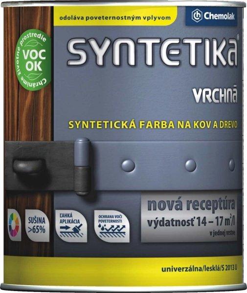 Syntetika S 2013 U - vrchný email na kov a drevo