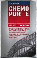 U 2081 CHEMOPUR E- vrchná polyuretánová farba na kov, betón, drevo