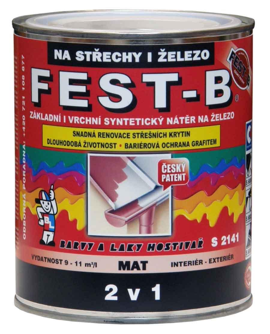 FEST-B - S2141 farba na strechu a konštrukcie