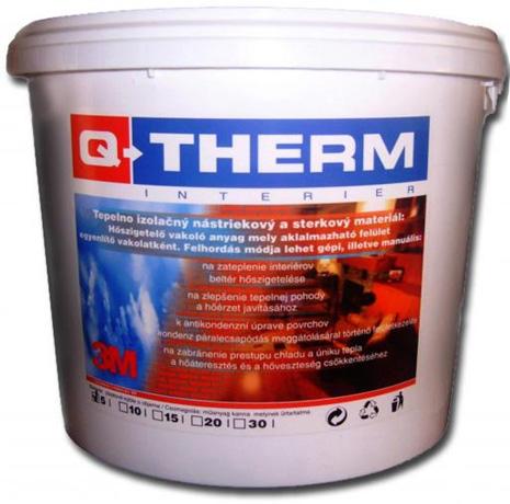 Q-Therm - tepelnoizolačná stierkova hmota Q therm