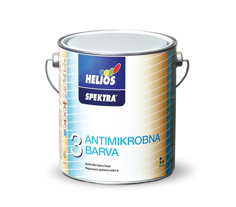 SPEKTRA Antimikróbna farba - hygienická farba proti plesni