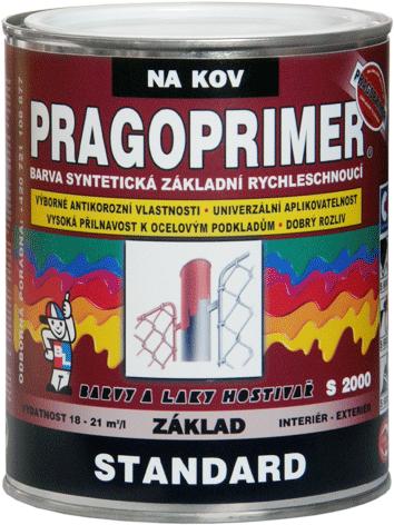 PRAGOPRIMER Standard S 2000 - antikorózna základná farba na kov