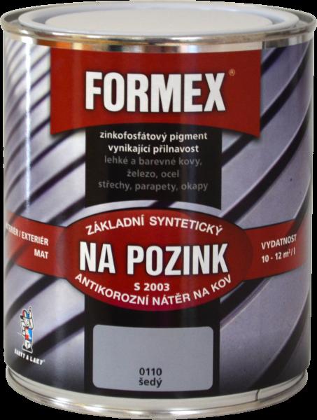 FORMEX S 2003 - základná farba na pozink