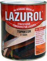 LAZUROL TOPDECOR S 1035 - tenkovrstvová lazúra s olejom