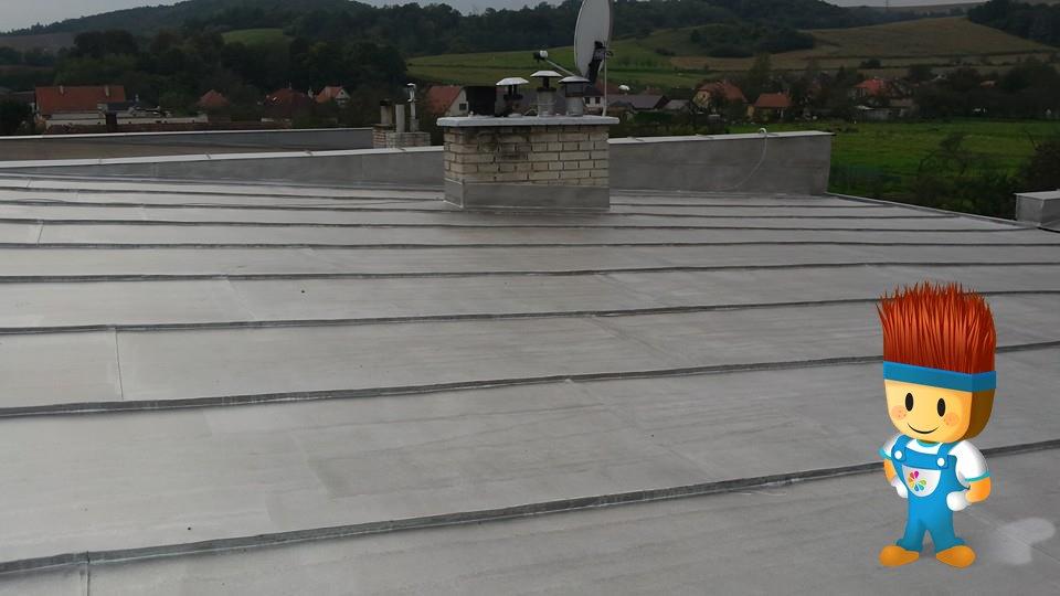 Renolast nový - asfaltohliníková farba na strechu
