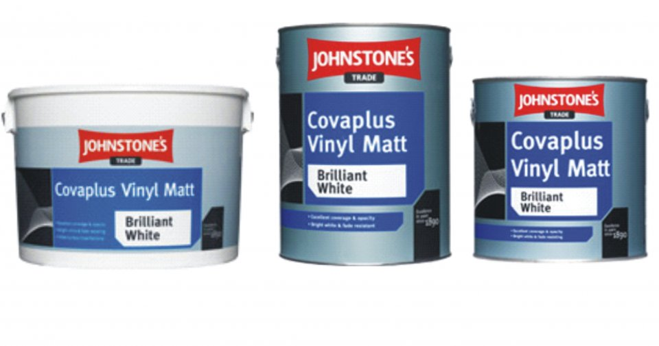 Johnstones Covaplus vinyl matt - umývateľná farba