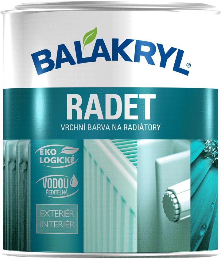 Balakryl Radet - farba na radiátor
