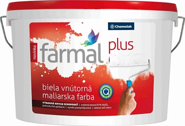 FARMAL Plus - interiérová farba na omietku a sadrokartón
