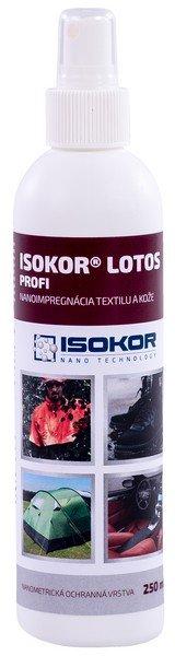 ISOKOR LOTOS PROFI - celoživotná nanoimpregnácia kože a textilu