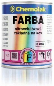 C 2000 Základná nitrocelulózová farba