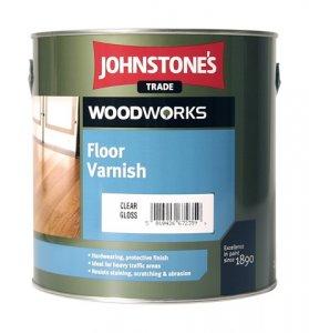Johnstones Floor Varnish - rýchloschnúci lak na podlahy