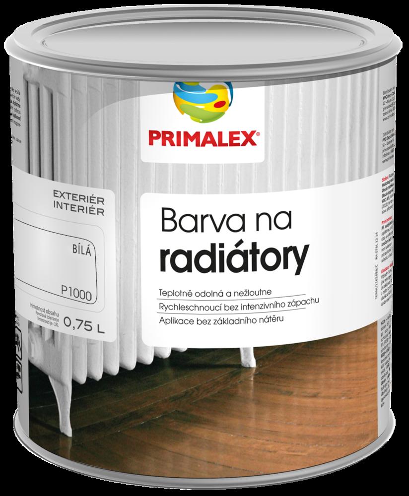 Primalex - farba na radiátor