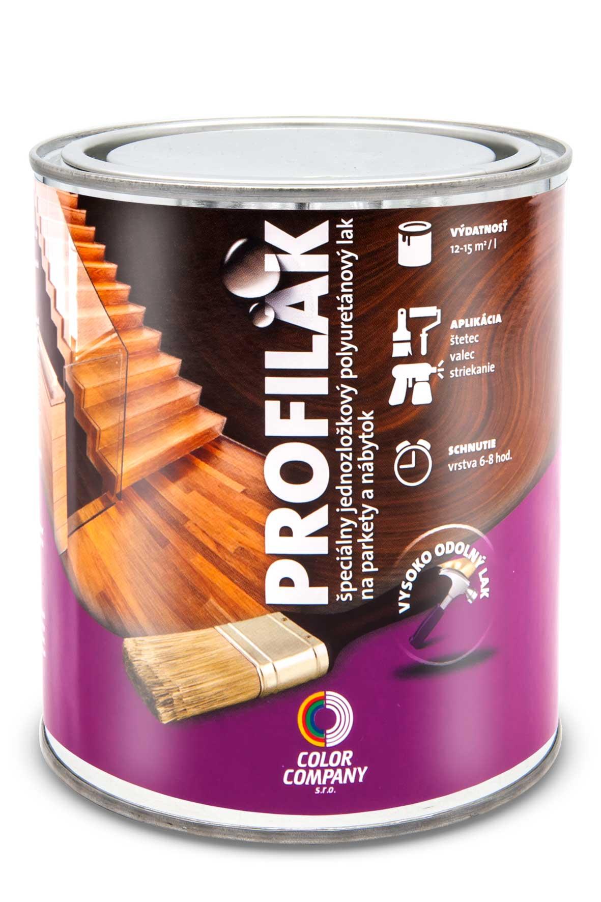 PROFILAK lak na drevené podlahy bezfarebný lesklý 5 l