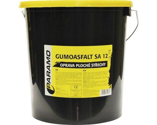 Gumoasfalt SA 12 - asfaltová farba na plochú strechu