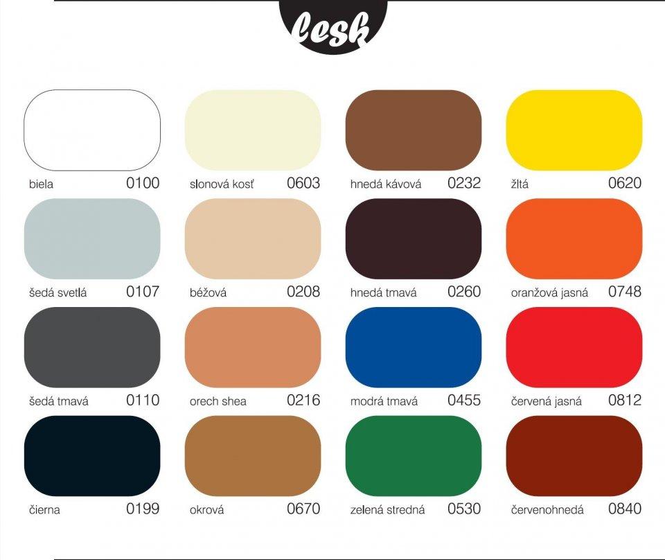 V 2062 EKOKRYL - lesklá farba na kov, drevo, omietky