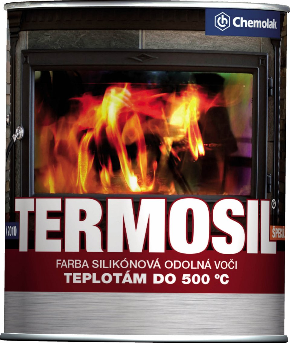 K 2010 - Termosil special - farba na vysoké teploty