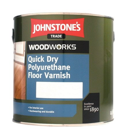 Johnstones Quick Dry Floor Varnish - rýchloschnúci lak na podlahu
