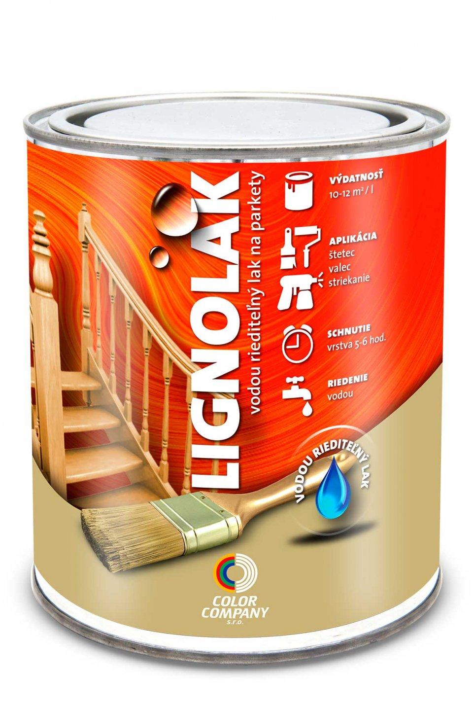 Lignolak - vodouriediteľný lak na podlahy