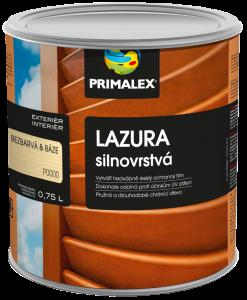 Primalex hrubovrstvá lazúra na drevo