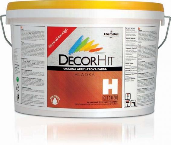 DECORHIT H - farba fasádna hladká