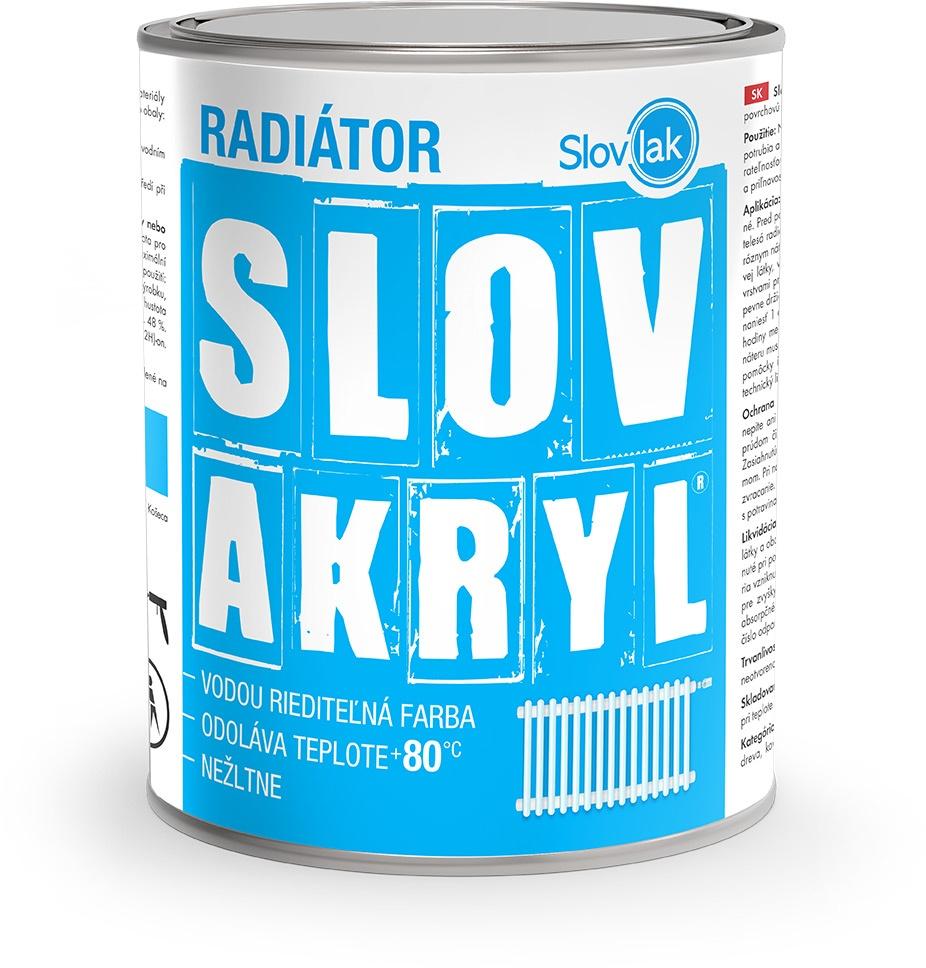 Slovakryl Radiátor - farba na radiator