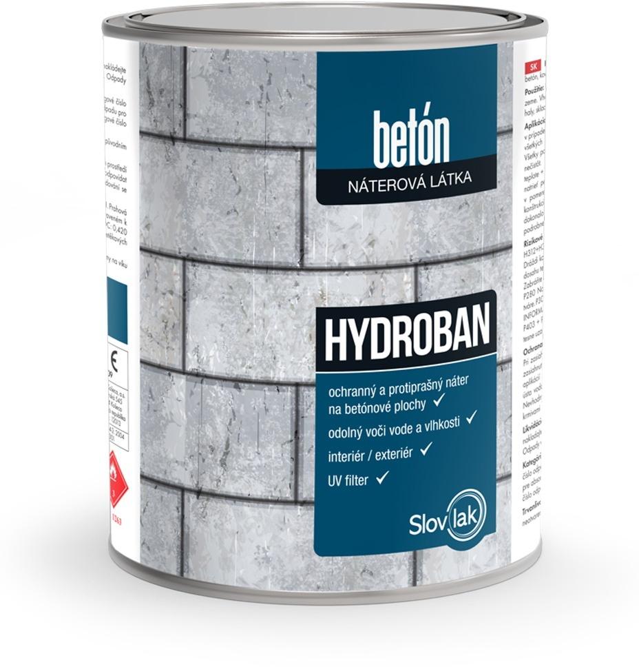 Hydroban - farba na betón 10 kg 0111 - šedá