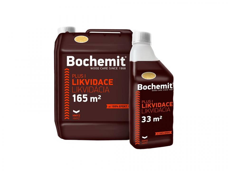 Bochemit Plus - ošetrenie napadnutého dreva