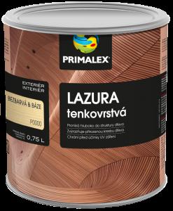 Primalex tenkovrstvá lazúra na drevo