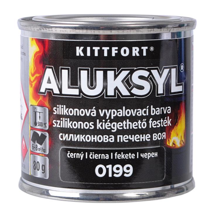 Aluksyl - vypaľovacia silikónová farba