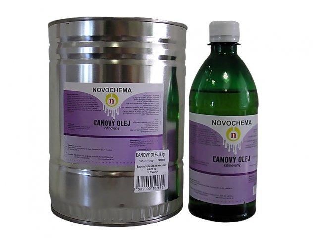 Olej ľanový - ľanový olej na drevo