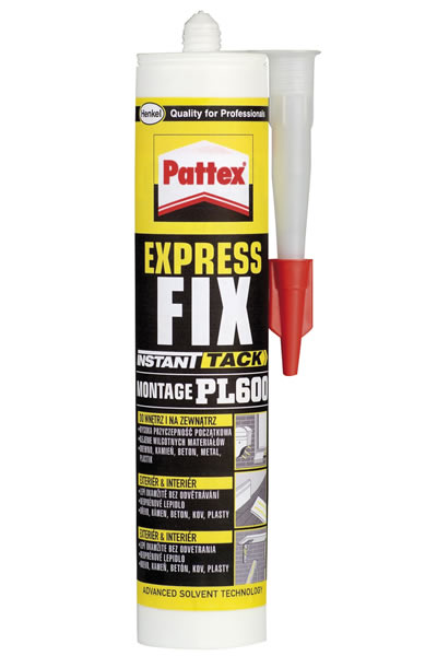 Lepidlo Pattex Express Fix PL600 375 g