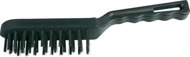 Drôtená kefa 1070 / 4 rad - na čistenie kovových predmetov