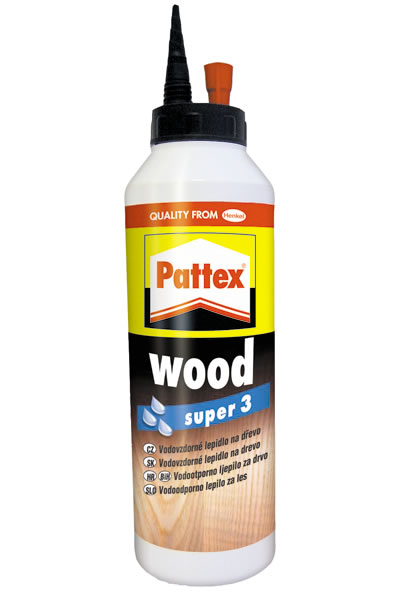 Lepidlo Pattex Wood Super 3