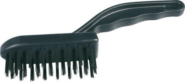 Drôtená kefa 1101 / 4 rad Malá - na čistenie kovových predmetov