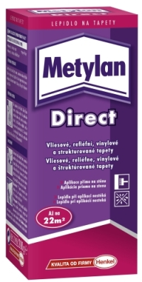 Lepidlo Metylan Direct na tapety 200g