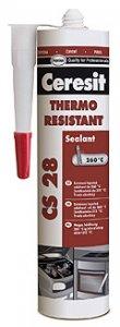 Ceresit CS28 Thermo resistant - tepelne odolný silikón