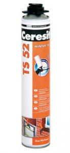 Ceresit TS52 WINTER - zímná pištoľová PUR pena od -10°C