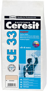Ceresit CE33 - Biela škárovacia hmota