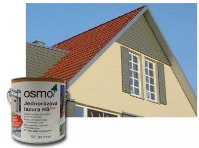 OSMO - Jednorázová lazúra HS Plus - fasády, ploty, domčeky