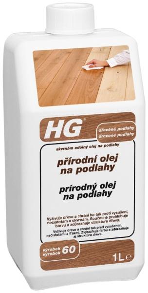 HG Prírodný olej na podlahy 1 l 451