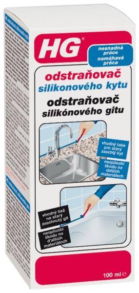 HG Odstraňovač silikónového gitu 100 ml 290